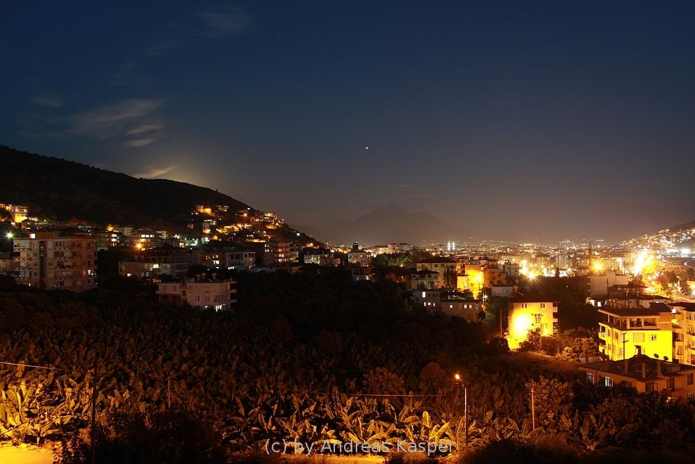 Alanya, Mondaufgang