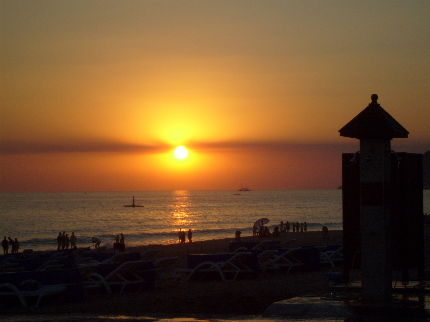Alanya sunset 2010