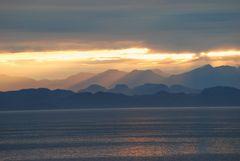 Alaska: the sunset#2