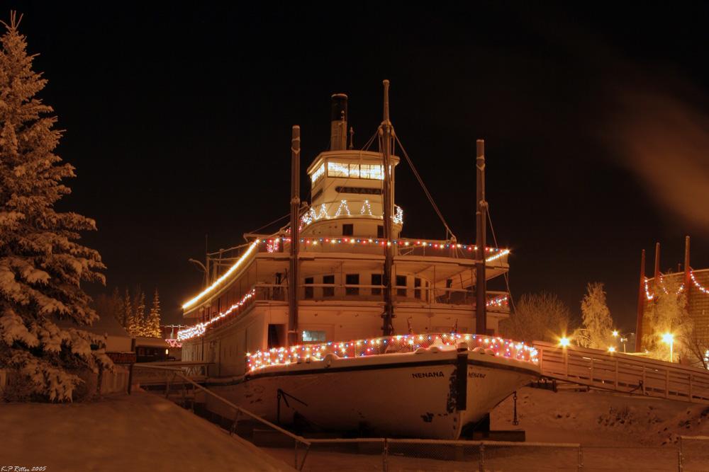 Alaska Winternacht 5