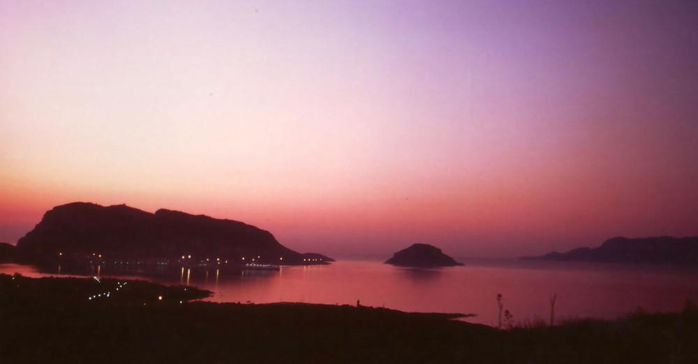 alba a Golfo Aranci