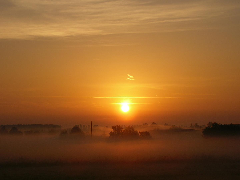 alba in pianura
