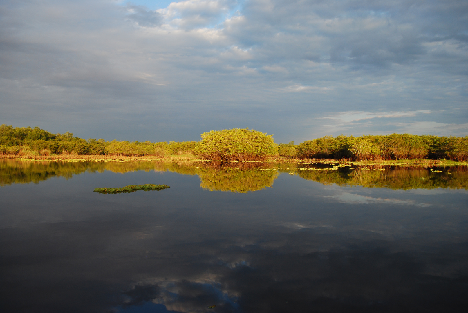 alba nella laguna