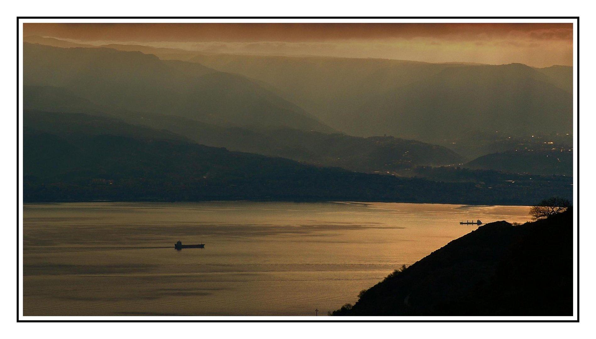 alba nello stretto