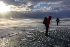alba sul ghiacciaio (2)