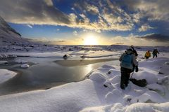 Alba sul ghiacciaio (4)