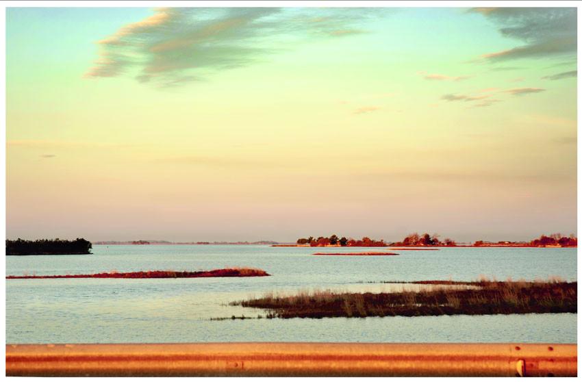 Alba sulla laguna di Grado2