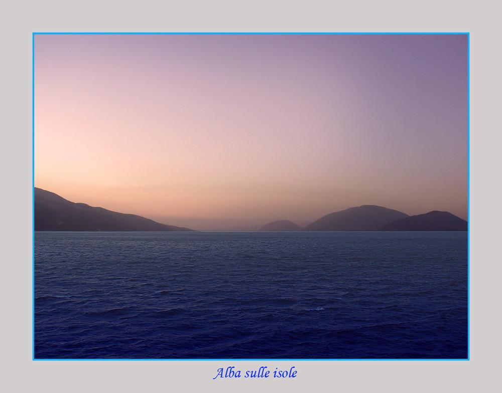 Alba sulle isole (reload)
