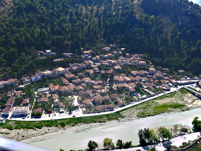 Albanien Berat Altstadt