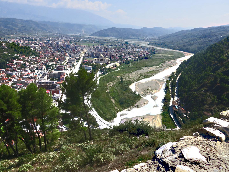 Albanien Berat mit Uni