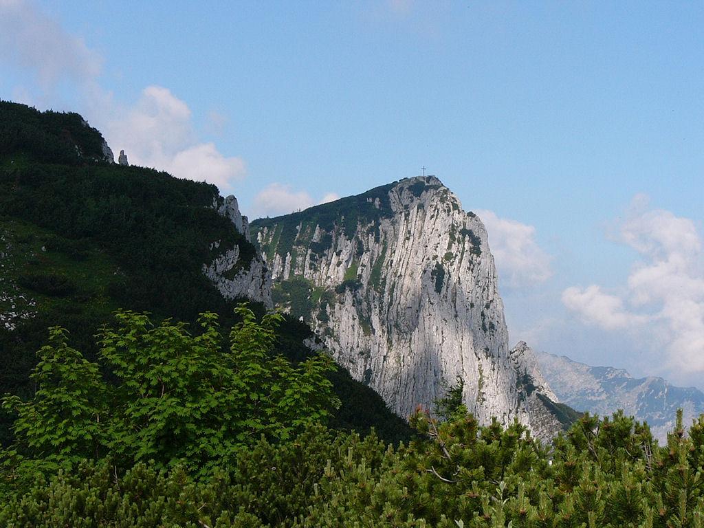 Alberfeldkogel mit Europakreuz 1.708 m