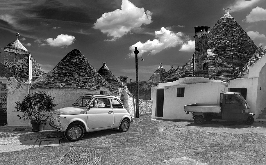 Alberobello: 500 FIAT