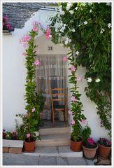 Alberobello Türe