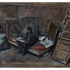 Alberto G. in seinem Pariser Atelier