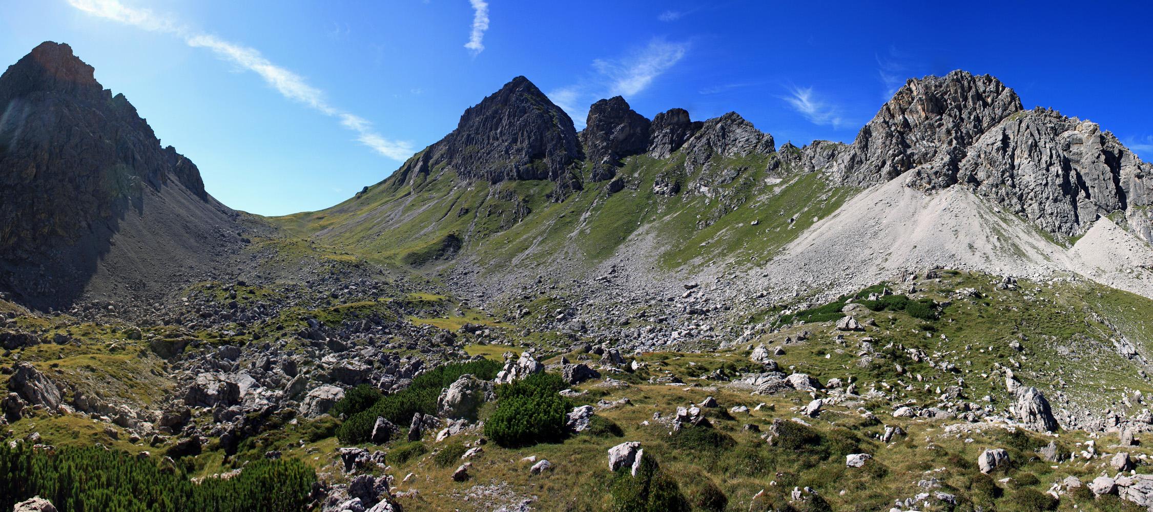 Alblitjöchl - Lechtaler Alpen!