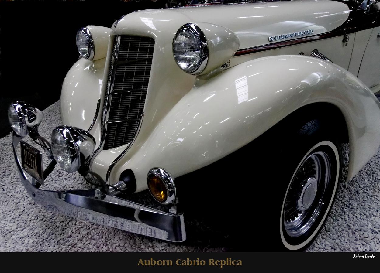 Alburn Cabrio Replica