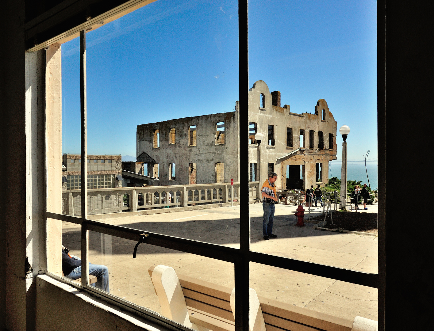 Alcatraz Blick 2