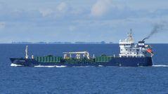 Alcedo - Tanker,  auf der Ostsee