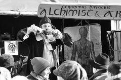 Alchimist & Arzt auf dem Mittelalter Weihnachtsmarkt in Esslingen
