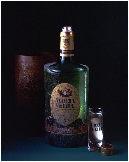 """""""Aldeia Velha"""" brandy - to drink very cold"""