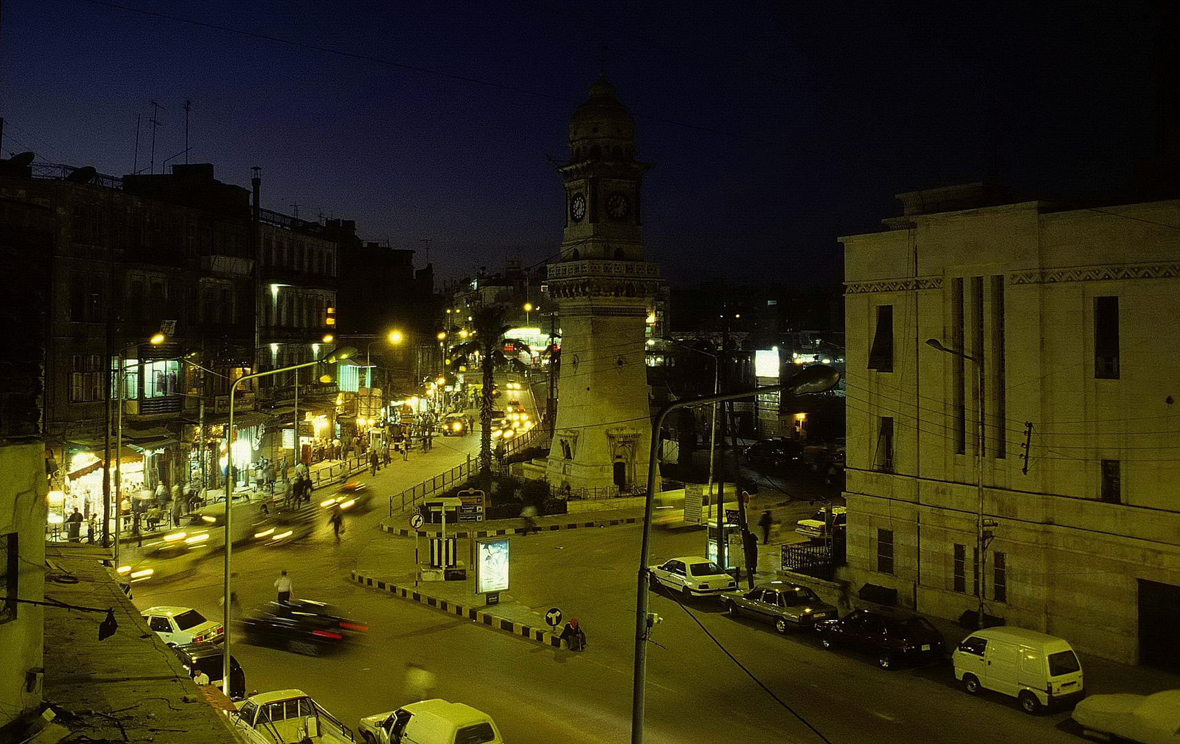 Aleppo bei Nacht - 2001