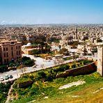 Aleppo - Blick auf die Stadt - als sie noch existierte