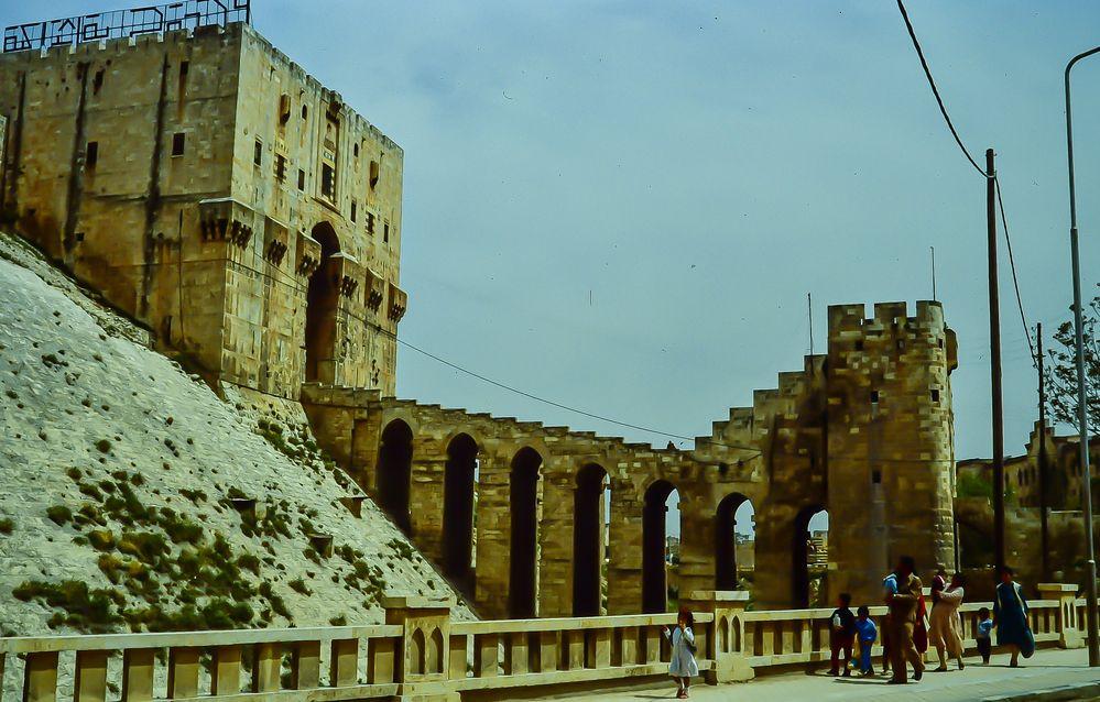 Aleppo die Festung.   .120_3810