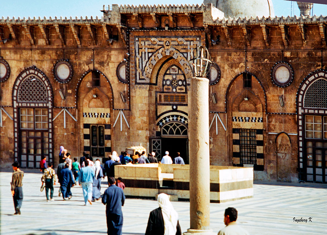 Aleppo - Umayyadenmschee Innenhof
