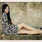 Alessia Ziliotti (ritratto) The wall