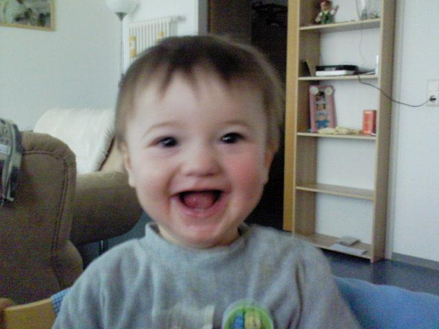 Alessio mit 1 Jahr