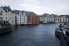 Alesund-altes Hafenviertel
