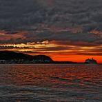 Alesund Hafen am Abend