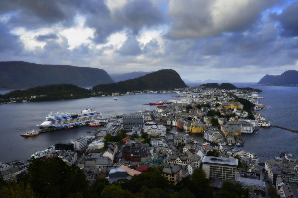 Alesund Norwegen 2018