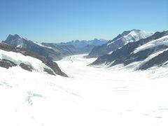 Aletsch Glacier from Jungfraujoch, Suisse 2008