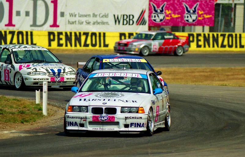 Alexander Burgstaller im BMW