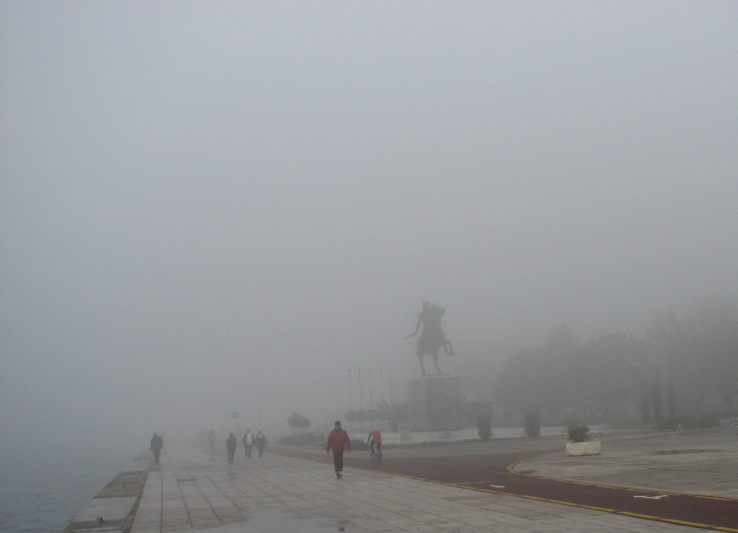 ALEXANDER THE GREAT IN FOG