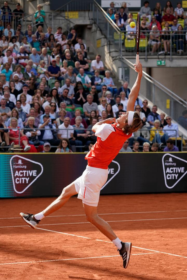 Alexander Zverev bei den Hamburg Open 2019