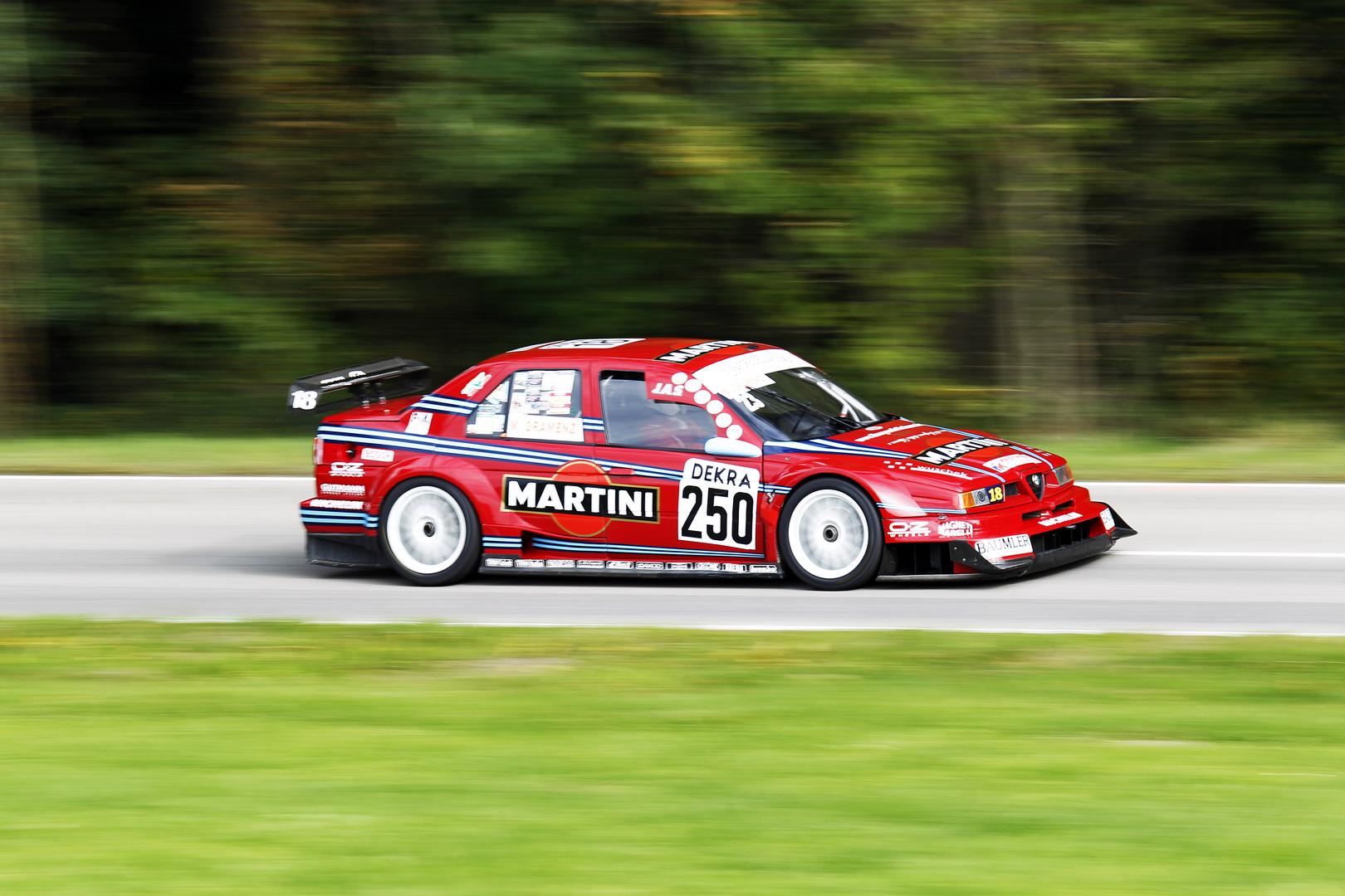 Alfa Romeo 155 DTM V6 Bergrennen Mickhausen 2017