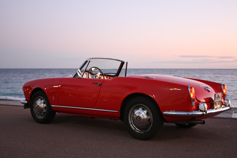 alfa romeo giulia spider 1962 1965 foto bild autos. Black Bedroom Furniture Sets. Home Design Ideas