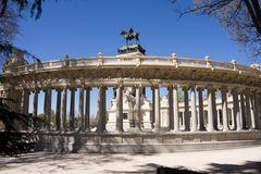 Alfonso XII im Retiro Park von Madrid