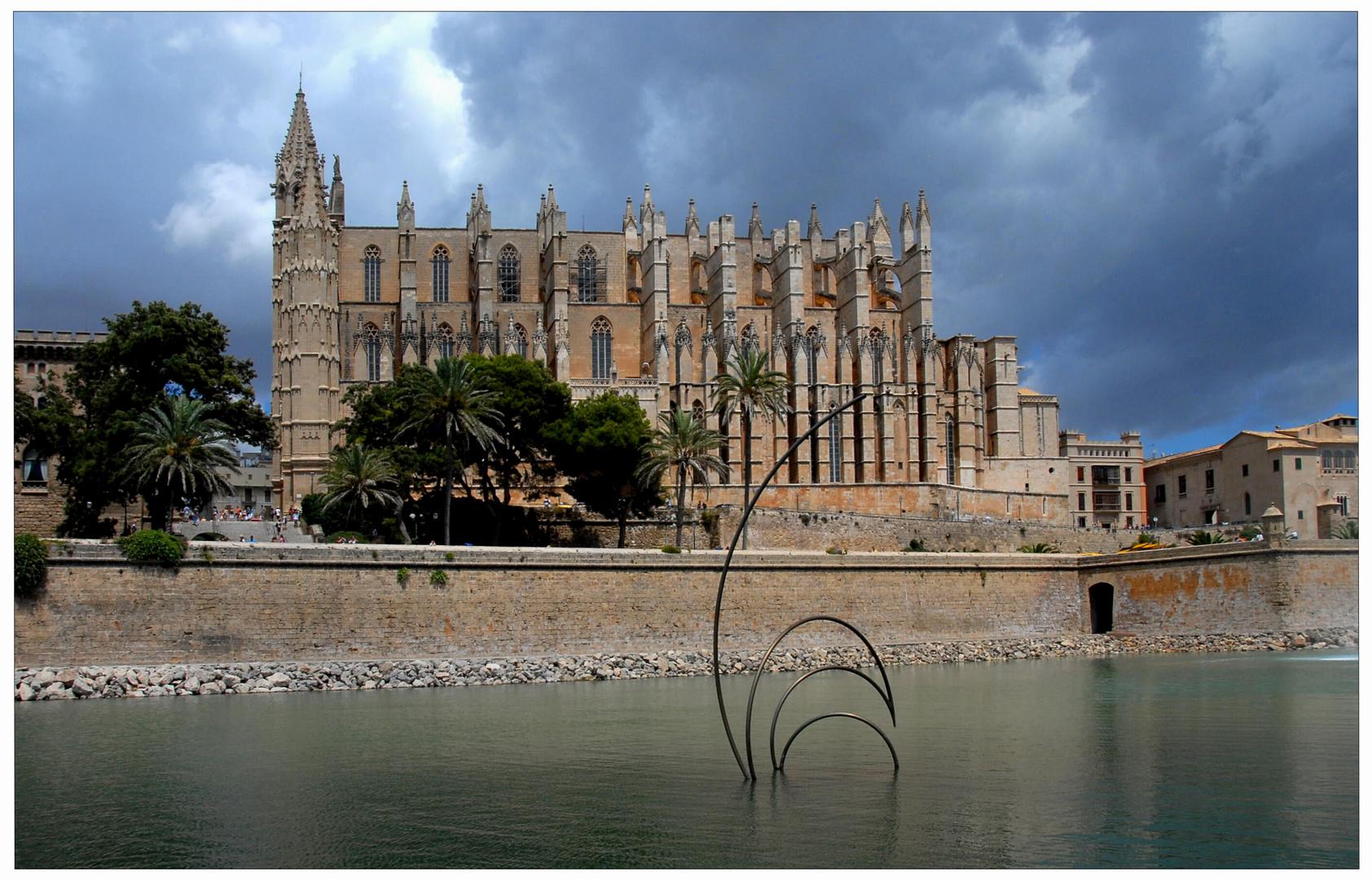 algo de las vacaciones - Palma de Mallorca, catedral