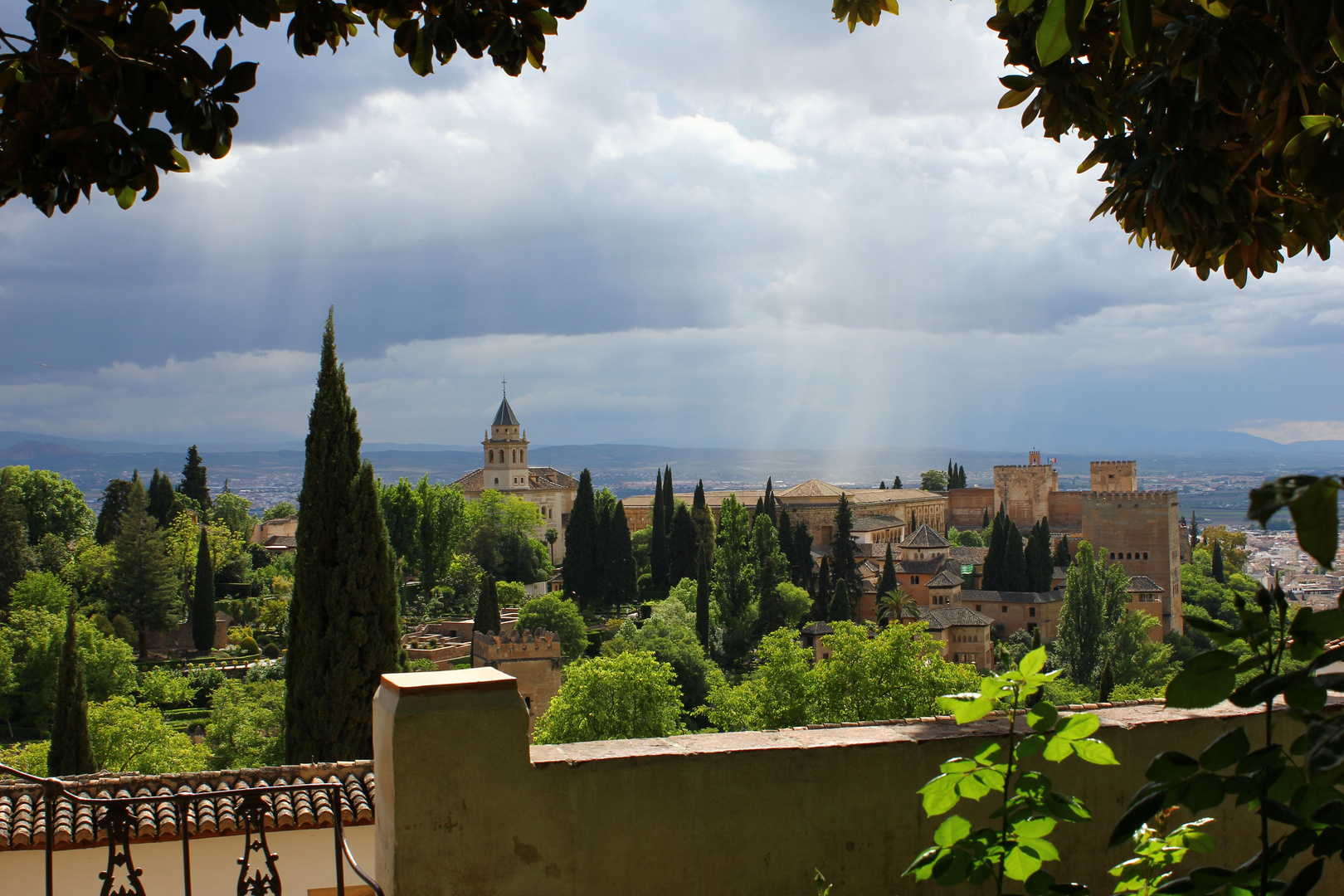 Alhambra, Andalusien