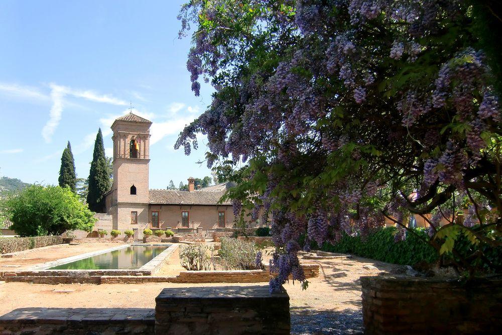 Alhambra bei Granada, Detail