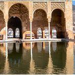 Alhambra de Granada....El Partal.