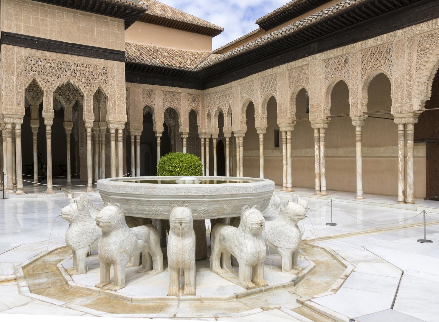 Alhambra - Löwenbrunnen