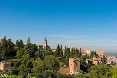 Alhambra von Granada -Mudejaerbe
