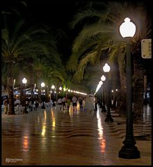 Alicante, Abendspaziergang