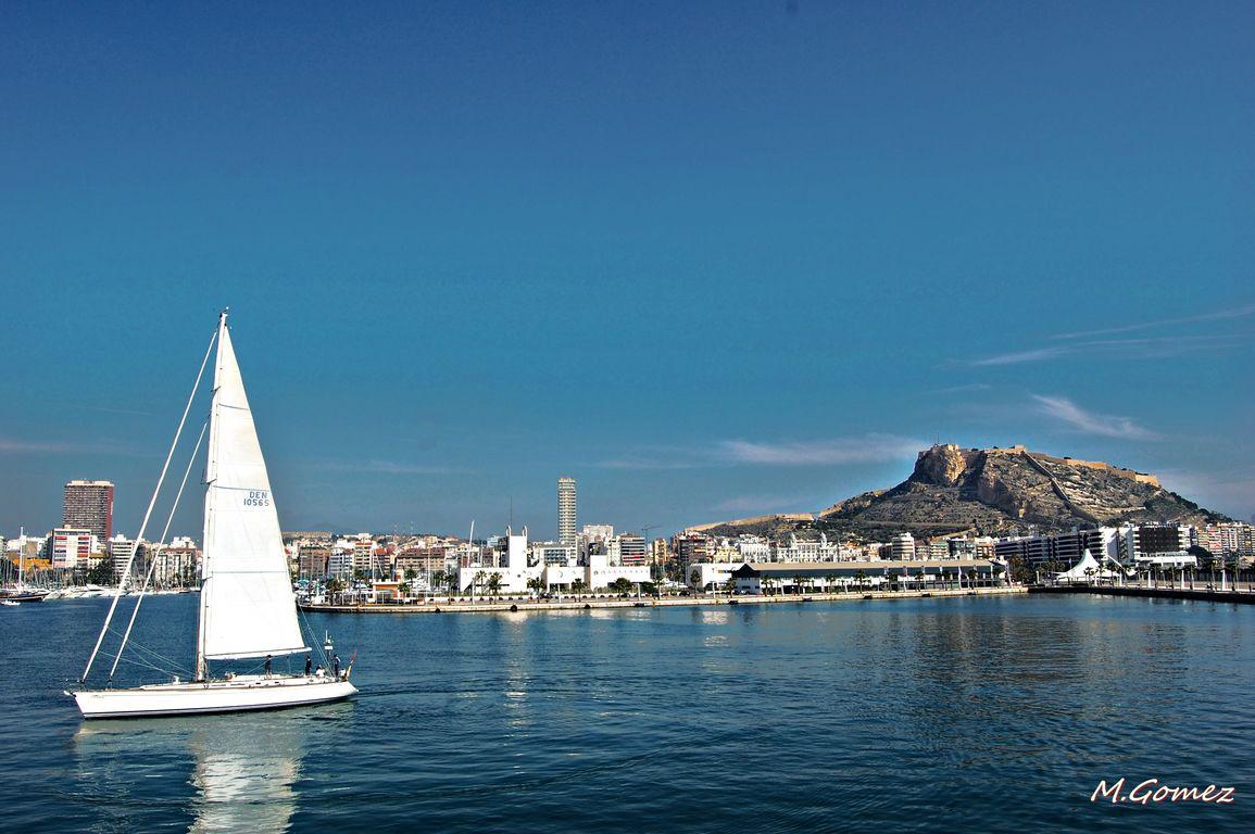 Alicante desde el cazaminas DIANA