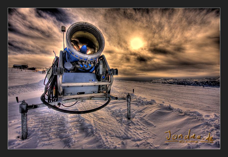 Aliens im Schnee