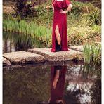 Alina im Wasserspiegel